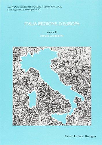 Italia regione d'Europa