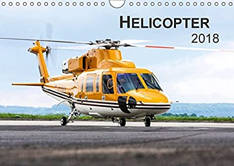 Helicopter 2018 (Wandkalender 2018 DIN A4 quer): Helicopter 2014 (Monatskalender,