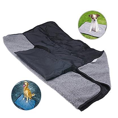 ThinkPet Multi-function Potable Waterproof Car Seat Protector Blanket for Pet,Best Choice for Outdoor Indoor Activities… 1