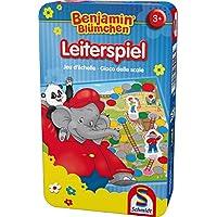 Schmidt-Spiele-51280-Benjamin-Blmchen-Leiterspiel-Bring-mich-mit-Spiel-in-Metalldose Schmidt Spiele 51280 Benjamin Blümchen, Leiterspiel, Bring mich mit Spiel in Metalldose -