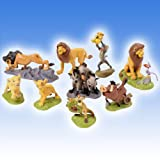 The Lion King 9 Piece Action Figure Playset By Banpresto