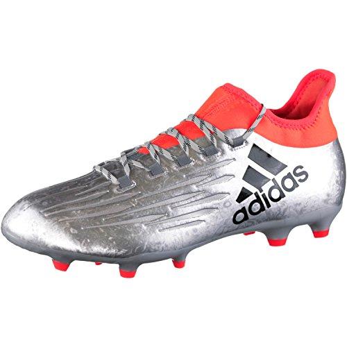 adidas X 16.2 FG - Fußballstiefel - Herren, Silber, 45 1/3