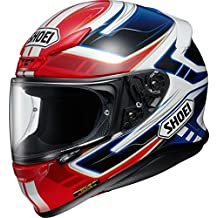 Shoei NXR Valkyrie Motorcycle Helmet M Red Blue (TC-1)