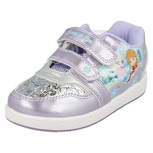 Disney - Sandali con Zeppa da ragazza' , multicolore (Purple), 25 EU
