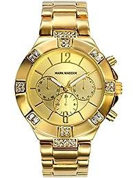 Mark Maddox MM6003-25 - Reloj de cuarzo para mujer, correa de otros materiales color dorado