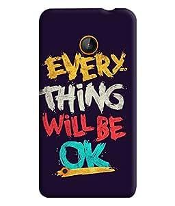 PrintVisa Corporate Print & Pattern Quotes 3D Hard Polycarbonate Designer Back Case Cover for Nokia Lumia 530