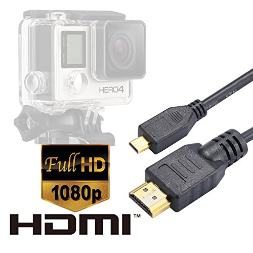 cable-micro-hdmi-luxebell-micro-hdmi-hd-cable-video-pour-gopro-hero3-hero3-hero4-black-edition-et-si