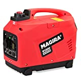 MAGIRA 1,2kW Inverter Stromerzeuger | 11 Varianten: 800W (0,8kW) - 7000W (7,0kW)| 12V 230V Schallgedämpfter Benzin Stromgenerator | Notstromaggregat Inverter Generator für sensible Geräte