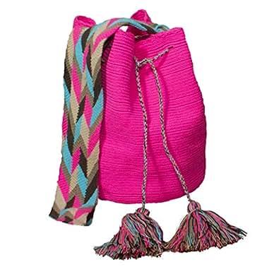 Virgen Wayuu Mochila sac Rose