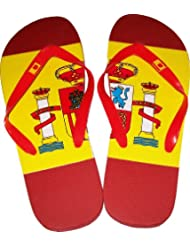 Tongs Claquettes ESPAGNE - Football supporter ESPANA - Pointure du 40 au 46
