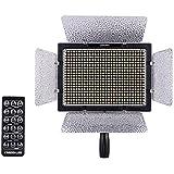 Yongnuo YN-600 600LED Température vidéo Studio lumière Lamp couleur réglable pour Canon Nikon DSLR Caméscope + Adaptateur distance