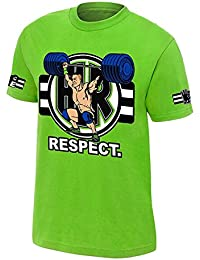 Step Shoes Green Cotton Half Sleeve Round Neck WWE T Shirts For Men John Cena