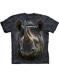 The Mountain - - Hommes Rhino T-shirt noir