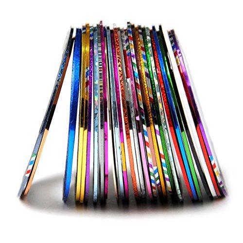 Fashion Galerie 29 Zierstreifen Strip Designdekoration Nailart Streifen Stripe Sticker - Galerie-streifen
