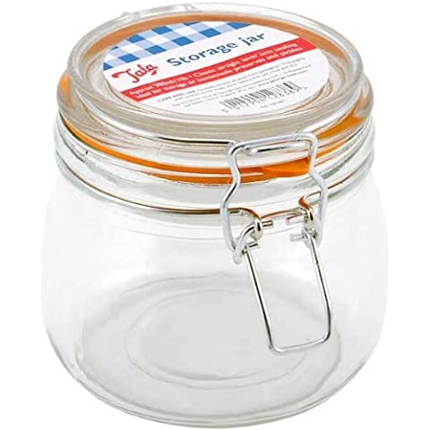 Tala lever arm storage jar - 380ml 3/4 lb by Dowricks Goodlife