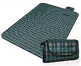 Honeystore 200*150 Oxford Yoga Matte Strand Ausflug Picknickdecke mit wasserabweisender Unterseite A09