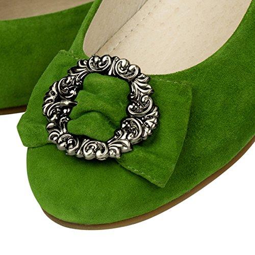 Shirin Sehan Greta scarpe Costume Kiwi Kiwi