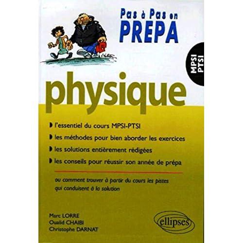 Physique MPSI-PTSI