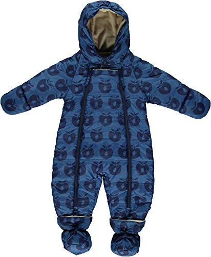 Smafolk - Combinaison de neige - Bébé (garçon) 0 à 24 mois - bleu - 62 cm/68 cm