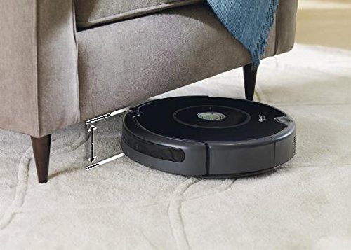 iRobot Roomba 606 ohne Staubbeutel 0.6L, Schwarz - 2