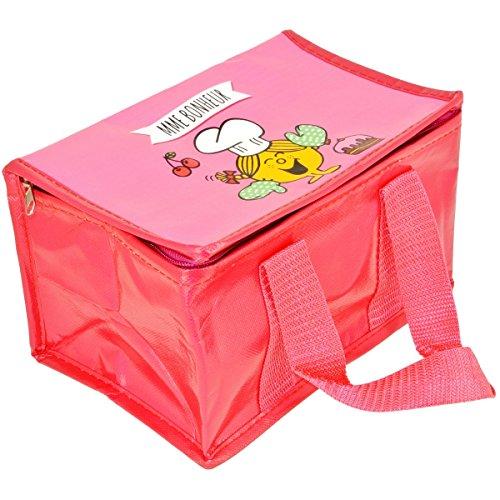 Mr et Mme - Lunch Bag Enfant Sac Repas Isotherme Mr Et Mme Bonheur Rose