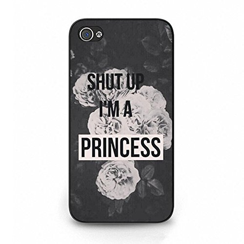 Iphone 4/4s Case,Stylish Solid Princess Phone Case Cover for Iphone 4/4s Best Friends Shell Cover Color119d