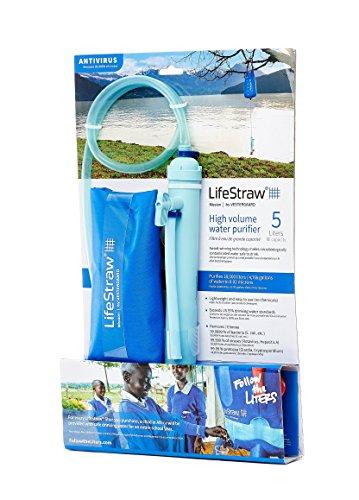 LifeStraw Mission  Kompakter Wasserreiniger mit Hohem Volumen - 8