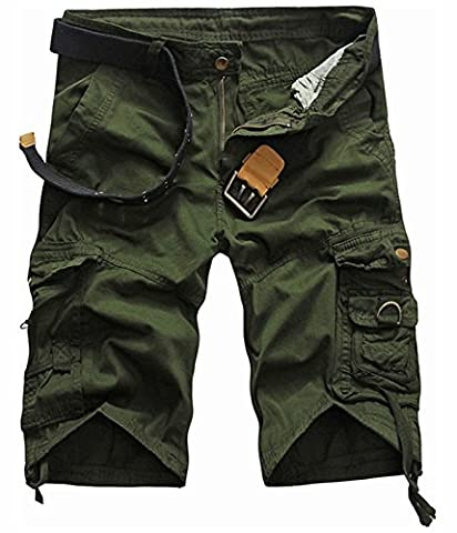 UMilk Men's Camo Relaxed Fit Cargo Shorts