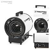 TROTEC Elektroheizer TDS 50 R mit 9 kW Heizlüfter Heizgerät Bauheizer mit integriertem Thermostat