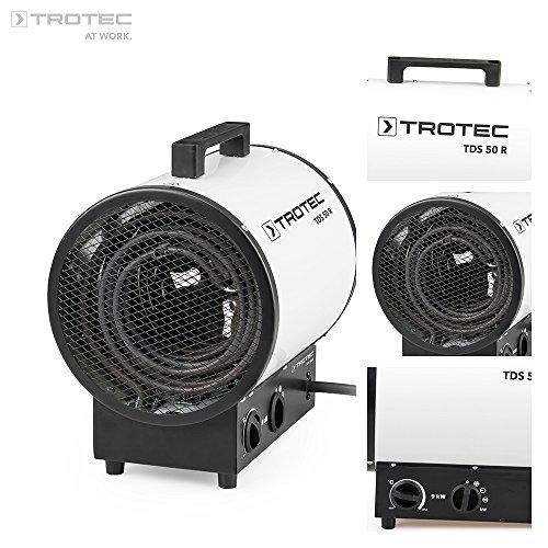 TROTEC Elektroheizer TDS 50 R mit 9 kW thumbnail