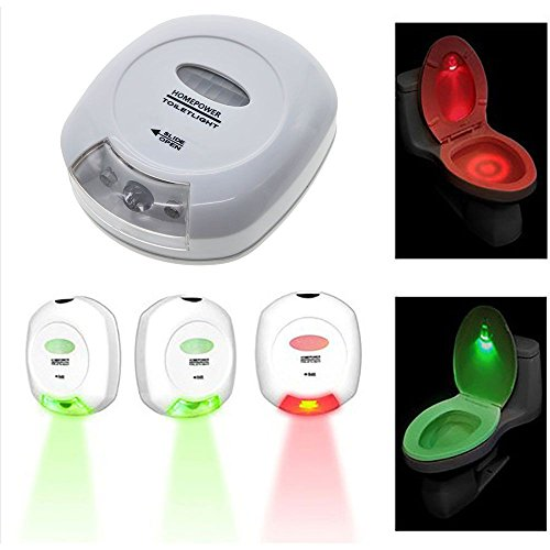 VANKER Sensor de movimiento activado luz de la noche del LED automática...