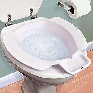 Léger Bidet de Voyage Portable Avec Savon Integral Dish / Easy Clean - se adapte sur ne importe quelle toilette siège normalisé