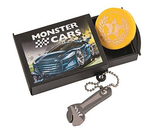 Monster Cars Radiergummi mit Diddl - Depesche 06032