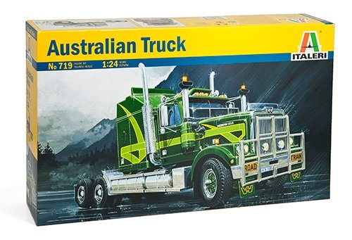 Italeri 0719 - australian truck model kit  scala 1:24
