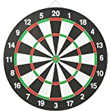 RV Double Sided Flocking Dart Board (Multi Sizes)