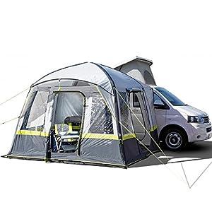 EXPLORER Zelt Luftzelt Trouper aufblasbares Familienzelt Mobilzelt 300x300x210cm (9m²) 4 Personen 3000mm Wassersäule…