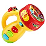 ZEARO Toddler Kids Cartoon Flashlight...