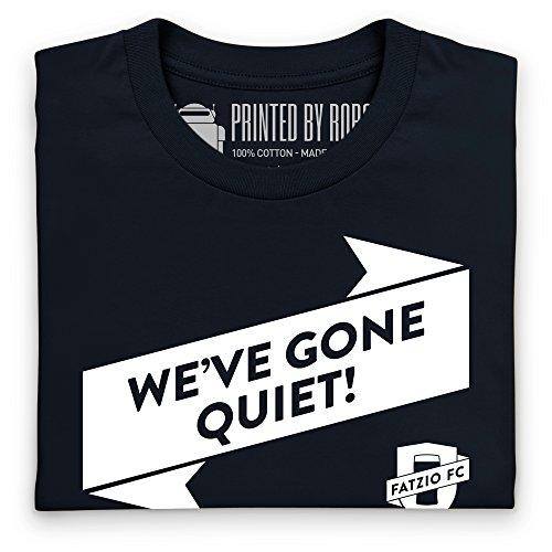 Fatzio FC We've Gone Quiet! T-Shirt, Herren Schwarz