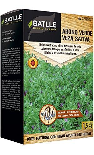 Abonos Ecológicos - Abono Verde Veza Caja 1,5Kg. - Batlle