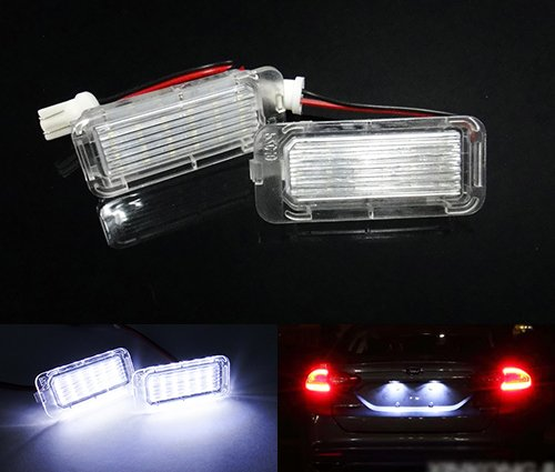 2-x-luffy-licenza-led-targa-luce-kit-bianco-no-errore-ford-fiesta-focus-c-max-kuga-mondeo-galaxy-jag
