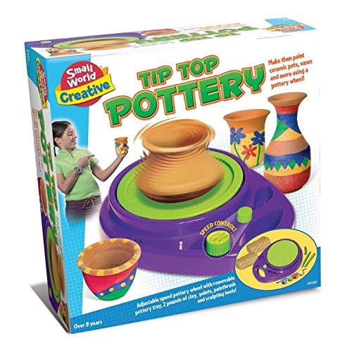 Make Your Own Tip Top Pottery - Child Development Kit - New Arts & Crafts For 2016 Reward Treat Pocket Money Gift Present Fun Arts & Crafts Games & Toys Idea Age 8+ Boys Girls Children Kids