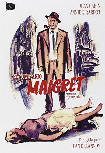 Bild von Maigret Tend Un Piège - El Comisario Maigret - Jean Delannoy - Jean Gabin y Annie Girardot.