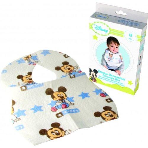 Disney 1703496031 - pack de 12 baberos desechables 35 x 24 cm