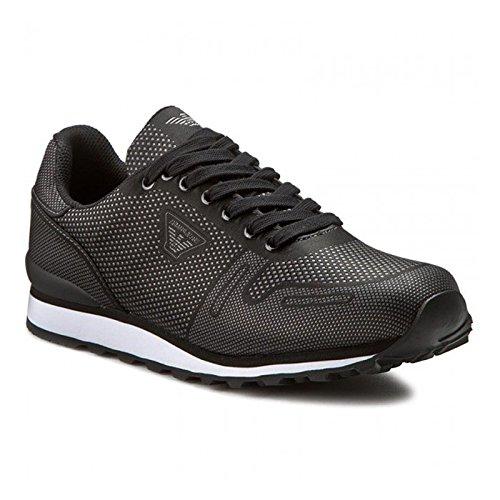Sneakers ARMANI JEANS Uomo 935026 6A429+00020 Nero IG007935026-6A42900020_42