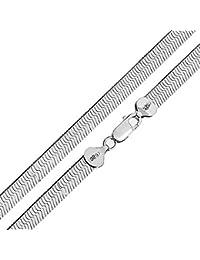 Sterling Silver 925 Herringbone Chain (16 IN)