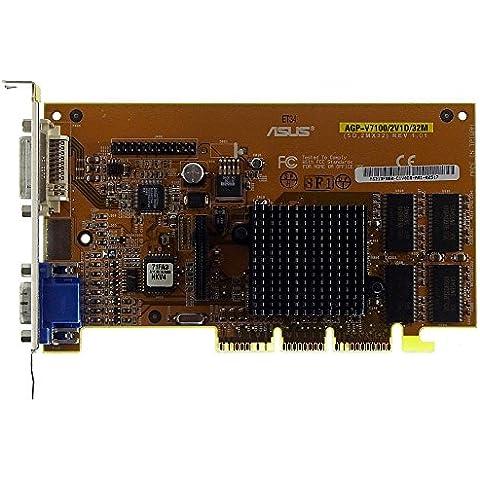 Scheda Video Asus AGP V7100/2V1d/32VGA + DVI