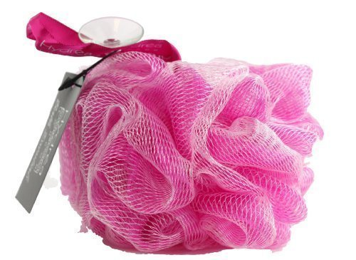 Spugna a rete esfoliante per il corpo di grande qualità/ color rosa- bagno e doccia