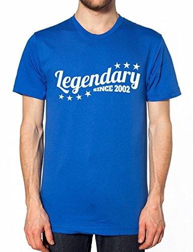 Legendäre seit 2002T Shirt Blau - Königsblau