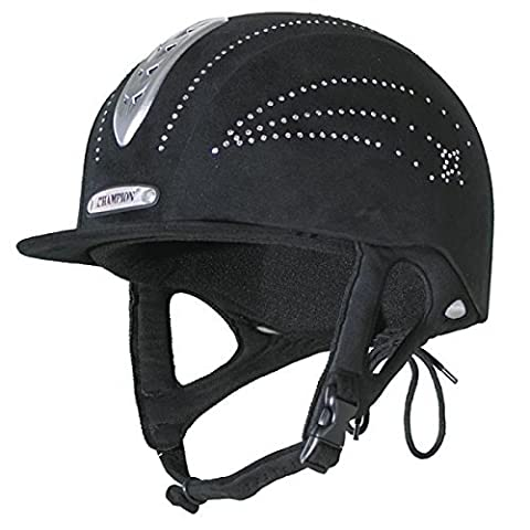 Champion X-Air Star Crystal Bling Riding Hat Adults / Child