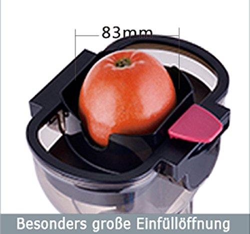 Acopino 360 Delicato Slow Juicer Bild 6*